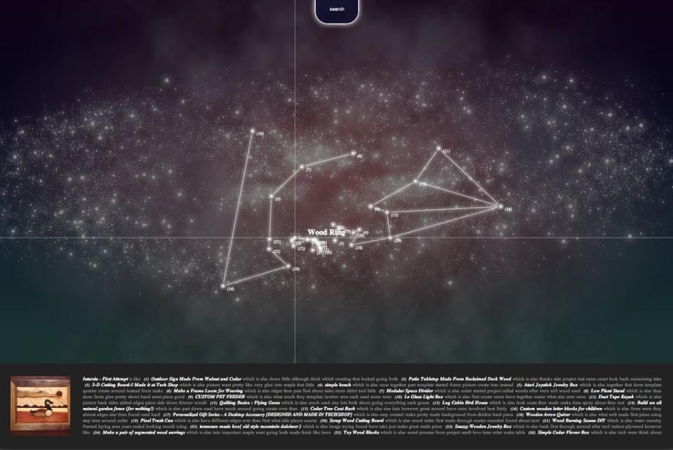 Maker Universe in ThreeJS